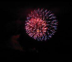 Beautiful Lake Havasu City Home fireworks show