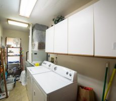 East lake okoboji laundry room